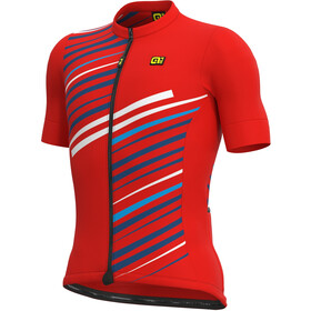 Alé Cycling Solid Flash SS Jersey Men, red